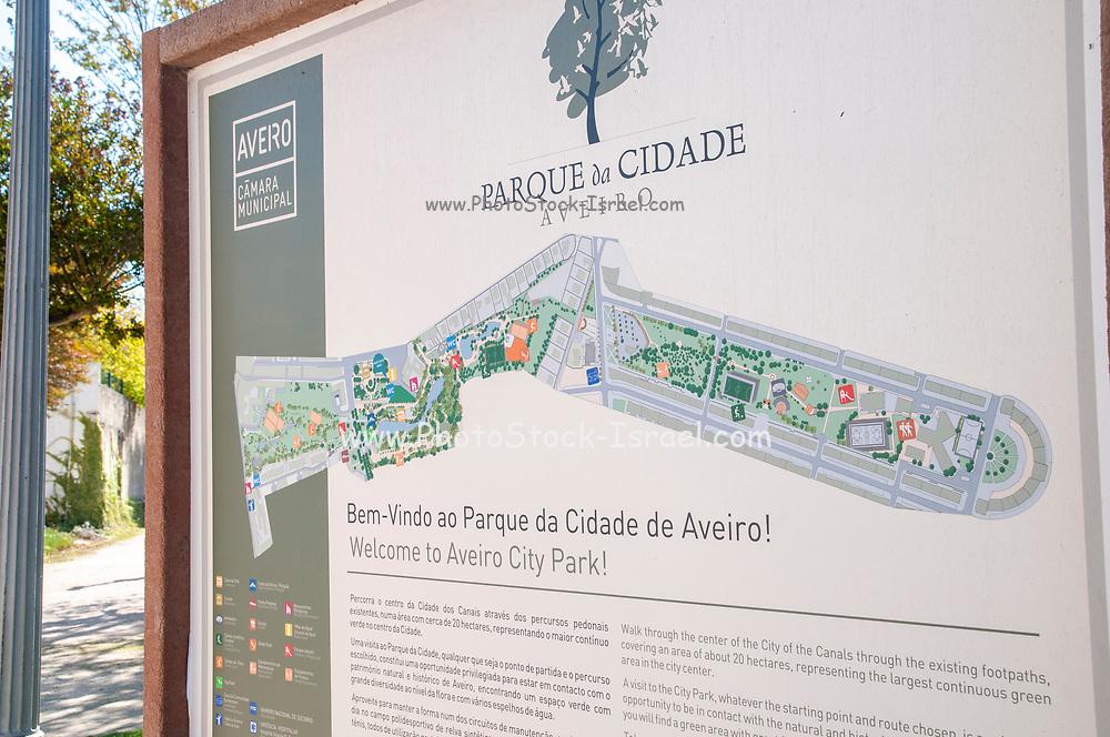 Aveiro city park, Aveiro, Portugal
