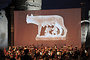 """Rome, Italy Outdoor concert """"The Roman Trilogy"""" at The Baths of Caracalla (Terme di Caracalla)"""