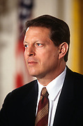 WASHINGTON, DC, USA - 1997/04/02: U.S. Vice-President Al Gore during a White House event April 2, 1997 in Washington, DC.     (Photo by Richard Ellis)