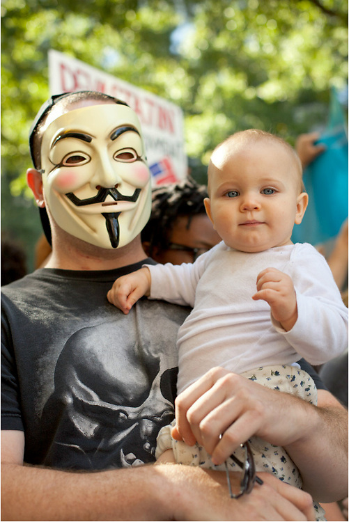 Protestors speaking out during the first weeks of the Occupy Charlotte.