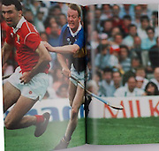 Ger Fitzgerald and Bobby Ryan in the 1990 Munster Final.