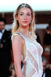 Alice Campello attending the Les Estivants Premiere as part of the 75th Venice International Film Festival (Mostra) in Venice, Italy on September 05, 2018. Photo by Aurore Marechal/ABACAPRESS.COM