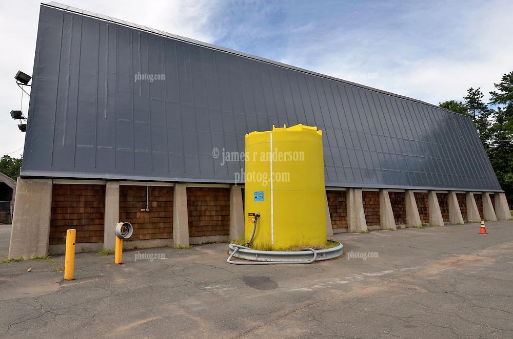 Forth Photo Shoot Progress View. CT-DOT East Granby Salt Shed Rehabilitation Project. No. 039-097