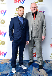 Matthew Wolfenden (left) and Duncan Preston attending the TRIC Awards 2019 50th Birthday Celebration held at the Grosvenor House Hotel, London.