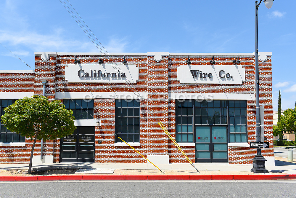 The Digital Media Arts Center in the Old California Wire Co. Building
