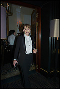 KRISTEN SCOTT THOMAS, Party to celebrate Vanity Fair's very British Hollywood issue. Hosted by Vanity Fair and Working Title. Beaufort Bar, Savoy Hotel. London. 6 Feb 2015