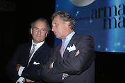 Charles Finch and Arnaud Bamberger. GQ Men Of The Year Awards at the Royal Opera House, London. September 6, 2005 in London, England, ONE TIME USE ONLY - DO NOT ARCHIVE  © Copyright Photograph by Dafydd Jones 66 Stockwell Park Rd. London SW9 0DA Tel 020 7733 0108 www.dafjones.com