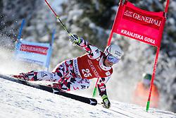 Manuel Feller (AUT) competes in 1st Run during Men Giant Slalom race of FIS Alpine Ski World Cup 55th Vitranc Cup 2015, on March 4, 2016 in Kranjska Gora, Slovenia. Photo by Ziga Zupan / Sportida