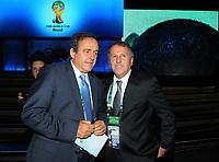 20110730: RIO DE JANEIRO, BRAZIL - UEFA Presiden Michel Platini Qualification draw for the 2014 World Cup held at the Marina da Gloria in Rio<br /> PHOTO: CITYFILES