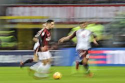 November 26, 2017 - Milan, Italy - Giacomo Bonaventura of AC Milan during Italian serie A match AC Milan vs Torino FC at San Siro Stadium (Credit Image: © Gaetano Piazzolla/Pacific Press via ZUMA Wire)