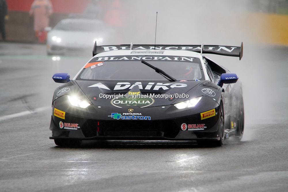 #26, Lamborghini Huracán, Team Lazarus, S.Campana/F.Crestani , Lamborghini BlancPain Super Trofeo 2015