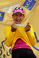 Sykkel<br /> Tour de France 2006<br /> Foto: Dppi/Digitalsport<br /> NORWAY ONLY<br /> <br /> CYCLING - UCI PRO TOUR - TOUR DE FRANCE 2006 - 08/07/2006<br />                           <br /> STAGE 7 - TIME TRIAL - SAINT-GREGOIRE>RENNES - SERHIY HONCHAR (UKR) / T-MOBILE - WINNER