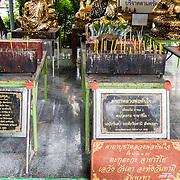 THA/Bangkok/201607111 - Vakantie Thailand 2016 Bangkok, Kaarzenoffers in de Wat Arun tempel in Bangkok