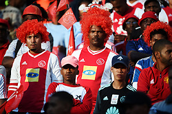 Cape Town-180512  Ajax Cape Town supporters who came to support their tream,look disappointed after losing 2-1 to Kaizer Chiefs in the last game of the PSL at Cape Town stadium.Ajax will now play the promotion /relegation play-offs. photographer:Phando Jikelo/African News Agency/ANA