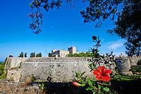 Grece, Dodecanese, Rhodes, ville de Rhodes, Unesco world heritage, la forteresse et le Palais des Grands Maitres // Greece, Dodecanese, Rhodes island, Rhodes city, Unesco word heritage, the Fortress and the Palace of Grand Masters