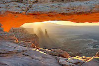 Sunrise at Mesa Arch, Canyonlands National Park Utah