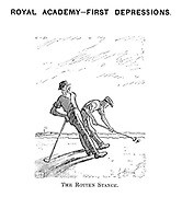 Royal Academy- First Depressions. The Rotten Stance.