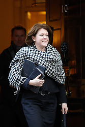 © licensed to London News Pictures. London, UK 04/02/2014. Culture Secretary Maria Miller attending to a cabinet meeting in Downing Street on Tuesday, 4 February 2014. Photo credit: Tolga Akmen/LNP