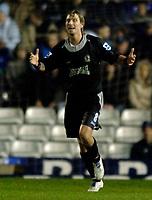 Photo: Glyn Thomas.<br />Birmingham City v Blackburn Rovers. The Barclays Premiership. 19/04/2006.<br /> Blackburn's Robbie Savage.