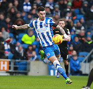 Brighton defender Liam Ridgewell during the Sky Bet Championship match between Brighton and Hove Albion and Bolton Wanderers at the American Express Community Stadium, Brighton and Hove, England on 13 February 2016. Photo by Bennett Dean.