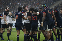 General brawl during a rugby friendly Test match, France vs New-Zealand in Stade de France, St-Denis, France, on November 11th, 2017. France New-Zealand won 38-18. Photo by Henri Szwarc/ABACAPRESS.COM
