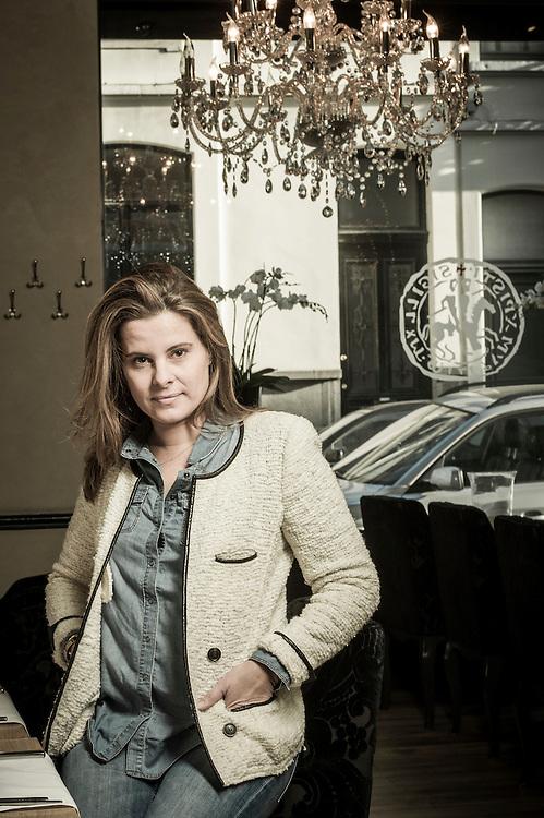 Brussels, Belgium 13 January 2014<br /> Portrait of Anne Floderer<br /> Photo: Ezequiel Scagnetti