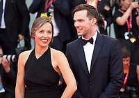Catherine Renier, and Actor Nicholas Hoult at the Opening Ceremony and gala screening of the film The Truth (La Vérité) at the 76th Venice Film Festival, Sala Grande on Wednesday 28th August 2019, Venice Lido, Italy.