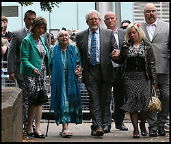 Image ©Licensed to i-Images Picture Agency. 30/06/2014. London, United Kingdom. Rolf Harris leaving Southwark Crown Court after being found guilty of sex assaults. Picture by i-Images