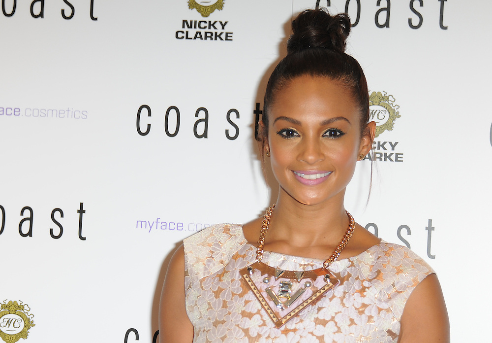 Alesha Dixon attends the launch of Coast Oxford Street flagship store, London, UK. 28/06/2012 Anne-Marie Michel/CatchlightMedia