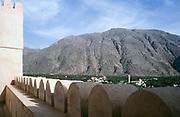 Nakhal Fort historic fortification in Al Batinah Region, Oman, Arabian Peninsula 1998