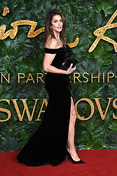Cindy Crawford attending the Fashion Awards in association with Swarovski held at the Royal Albert Hall, Kensington Gore, London