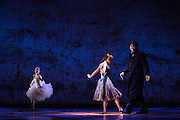 """Tiler Peck performs as Young Marie van Goethem and Boyd Gaines as Edgar Degas during """"The Little Dancer Ballet"""" in Little Dancer at the Kennedy Center in Washington, D.C. This is a world premiere Kennedy Center produced production that is directed and choreographed by Susan Stroman, book and lyrics by Lynn Ahrens, and music by Stephen Flaherty."""