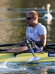 Jan Spik in category M4x (Coxed four) during rowing at Slovenian National Championship and farewell of Iztok Cop, on September 22, 2012 at Lake Bled, Ljubljana Slovenia. (Photo By Matic Klansek Velej / Sportida)