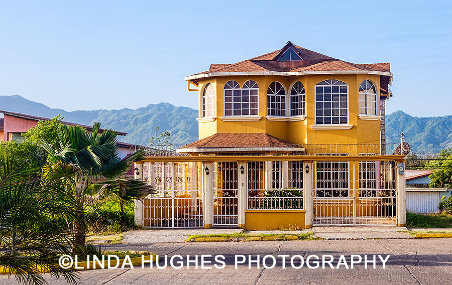 Real Estate Photography, residential, Honduras, house, home, Tropical home, yellow,