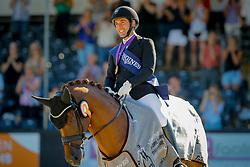 Jurado Lopez Severo, ESP, D'Avie<br /> World ChampionshipsYoung Dressage Horses<br /> Ermelo 2018<br /> © Hippo Foto - Dirk Caremans<br /> 05/08/2018