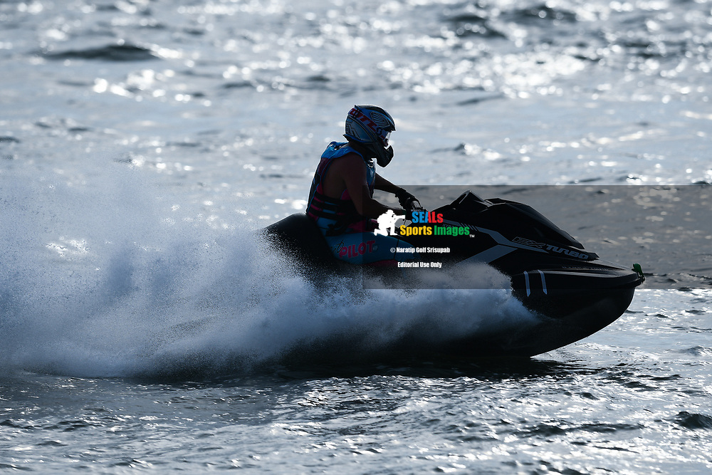 PATTAYA, THAILAND - DECEMBER 09: Marcus Jorgensen (11) of Denmark and MJ Racing in action during the Pro Runabout 1100 Open Moto4 at the Thai Airways International Jet Ski World Cup 2018, Jomtien Beach, Pattaya, Thailand on December 09, 2018. <br /> .<br /> .<br /> .<br /> (Photo by: Naratip Golf Srisupab/SEALs Sports Images)<br /> .<br /> Any image use must include a mandatory credit line adjacent to the content which should read: Naratip Golf Srisupab/SEALs Sports Images
