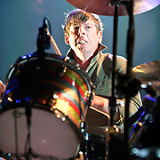 WASHINGTON, DC - March 9th, 2012 -  Patrick Carney of The Black Keys performs during a sold out show at the Verizon Center in Washington, D.C.  The duo's seventh studio album, El Camino, was released last December and debuted at number 2 of the Billboard 200. (Photo by Kyle Gustafson/For The Washington Post)