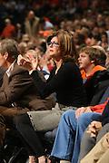 Renee Grisham at a UVa basketball game.