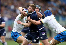Scotland's Finn Russell during the NatWest 6 Nations match at the Stadio Olimpico, Rome.