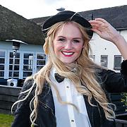 NLD/Loosdrecht/20130221 - Perspresentatie RTL programma Echte Meisje op de Prairie, Claire Recourt