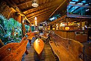 Bar at Grajagan Surf Resort on Ilha do Mel, Brazil