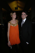 Jacquetta Wheeler and her husband, THE DINER DES TSARS in aid of UNICEF. To celebrate the launch of Quintessentially Wine, Guildhall. London. 29 March 2007.  -DO NOT ARCHIVE-© Copyright Photograph by Dafydd Jones. 248 Clapham Rd. London SW9 0PZ. Tel 0207 820 0771. www.dafjones.com.