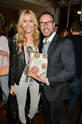 MELISSA ODABASH and JASON GARDINER at a party to celebrate the publication of 'Honestly Healthy For Life' by Natasha Corrett held at Bumpkin, 209 Westbourne Park Road, London on 26th March 2014.