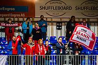 Fotball , 11 November 2018 , Eliteserien , Kristiansund - Brann , Bataljonen , Supportere<br /> <br /> <br /> , Foto: Marius Simensen, Digitalsport