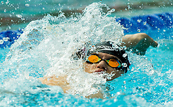Vito Vodenik of Branik Maribor competes in 4x100m Medley during Slovenian Swimming National Championship 2014, on August 3, 2014 in Ravne na Koroskem, Slovenia. Photo by Vid Ponikvar / Sportida.com