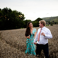 Charlotte and Spencer - The Big Field (Dorking RFC)
