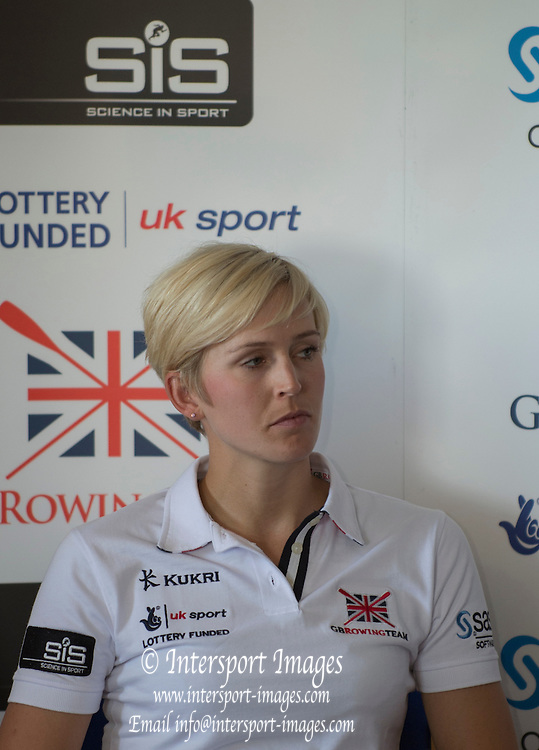Caversham. Reading. Victoria THORNLEY. GBRowing  European Team Announcement, GB Training Base Reading. 13.05.2015. Wednesday. [Mandatory Credit: Peter Spurrier/Intersport-images.com