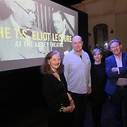 17.11.2019 Abbey Theatre T.S. Eliot lecture