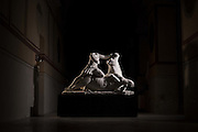 Opere d'arte in custodia all'interno del caveau presso il Reparto Operativo Carabinieri Tutela Patrimonio Culturale a Roma, Caserma La Marmora. 11 novembre 2015.  Christian Mantuano / OneShot