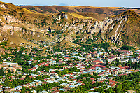 Zangezur Mountains in Goris Skyline landmark of Syunik province Armenia eastern Europe